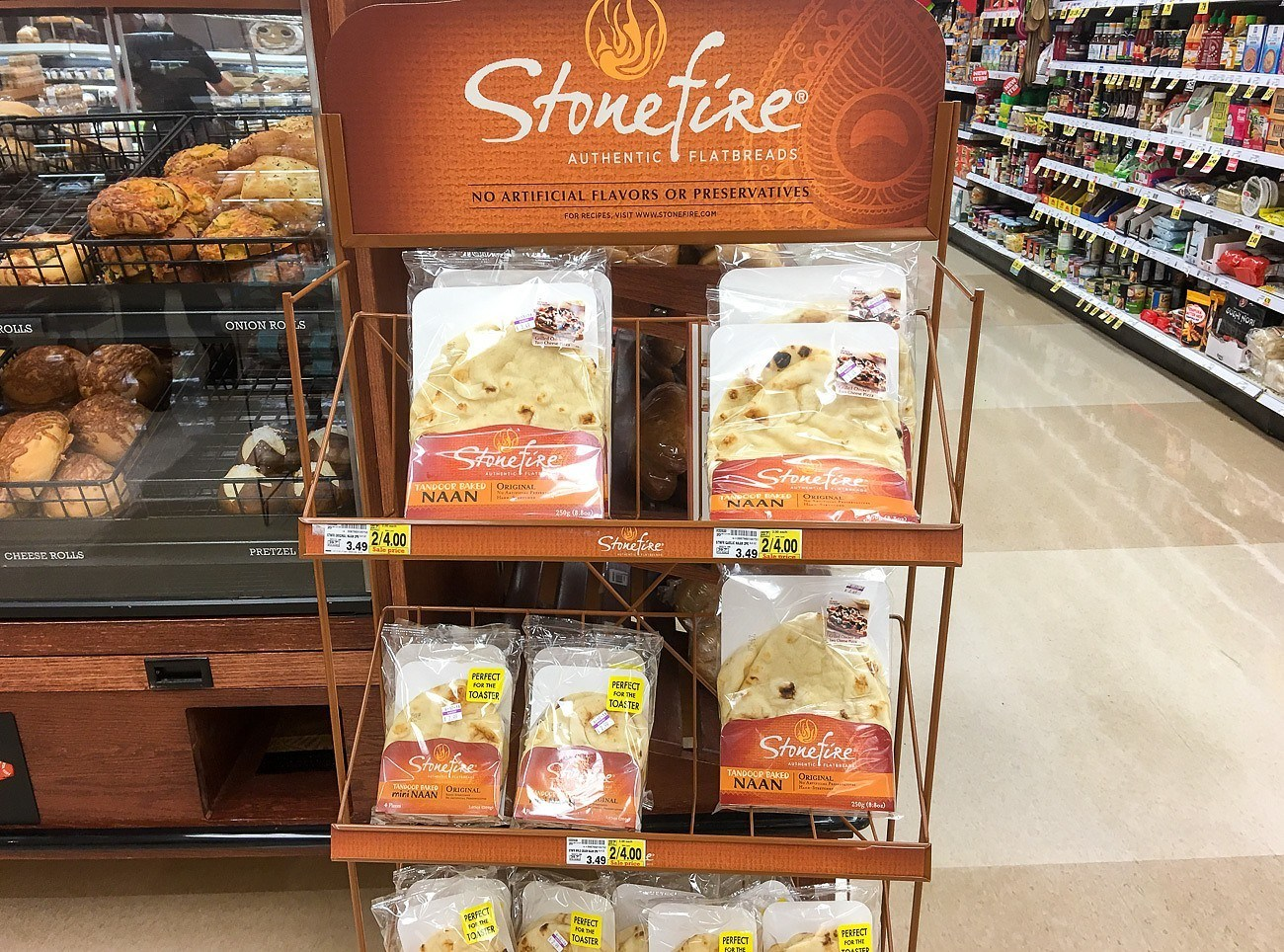 Buy Stonefire naan at Ralph's Pacific Beach.