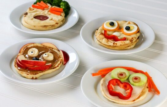 Easy and Fun Kids' Lunch Ideas with Naan
