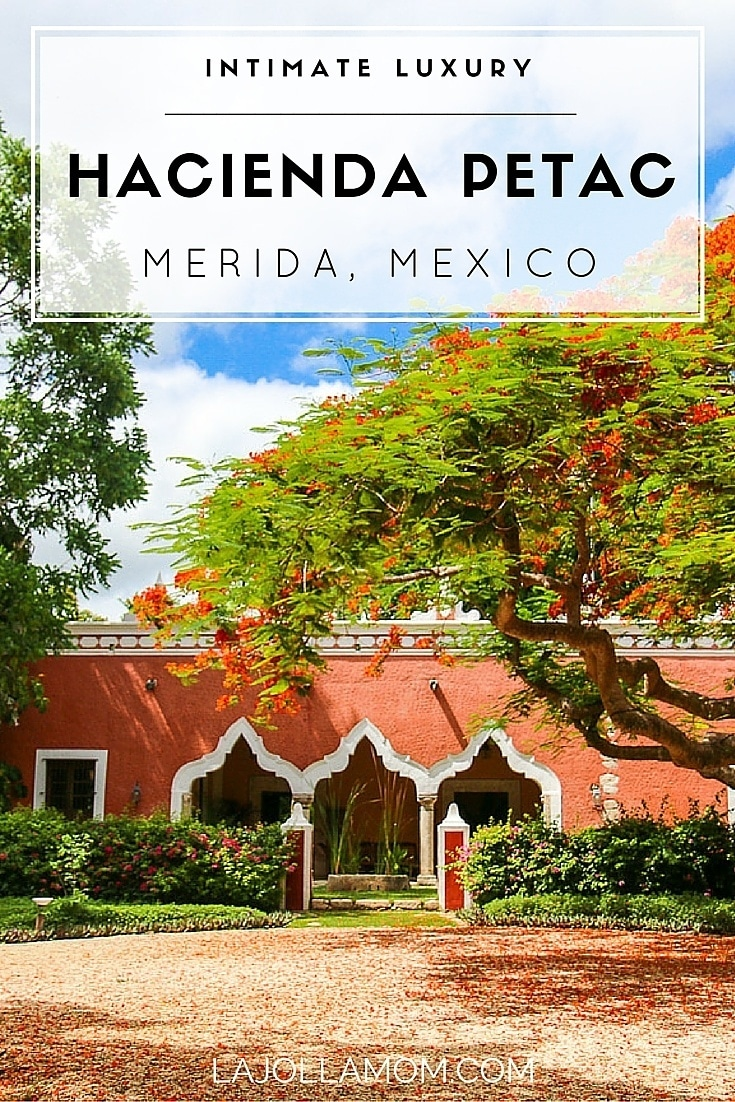 Grab friends or family and book a stay at the luxurious Hacienda Petac in Mexico's Yucatan peninsula near Merida.