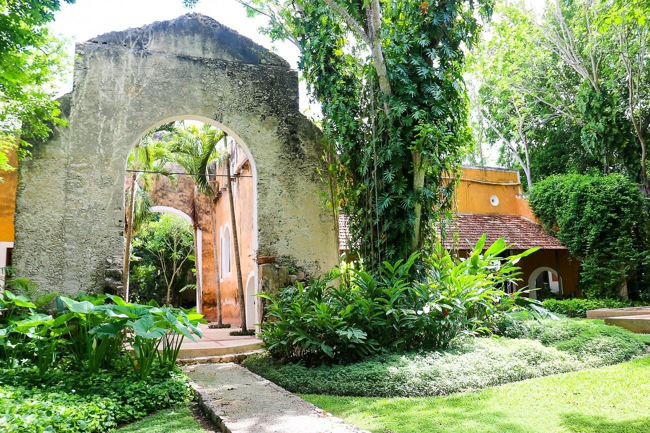 Hacienda Petac's renovation refreshed existing centuries-old architecture.