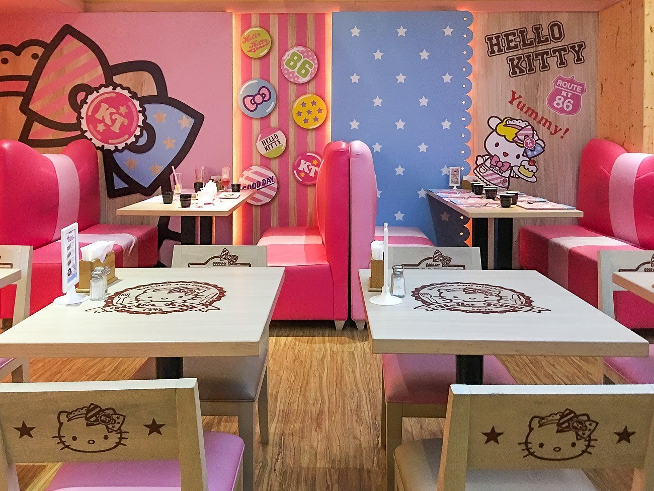 What It's Like to Eat at Taipei's Hello Kitty Cafe - La ...