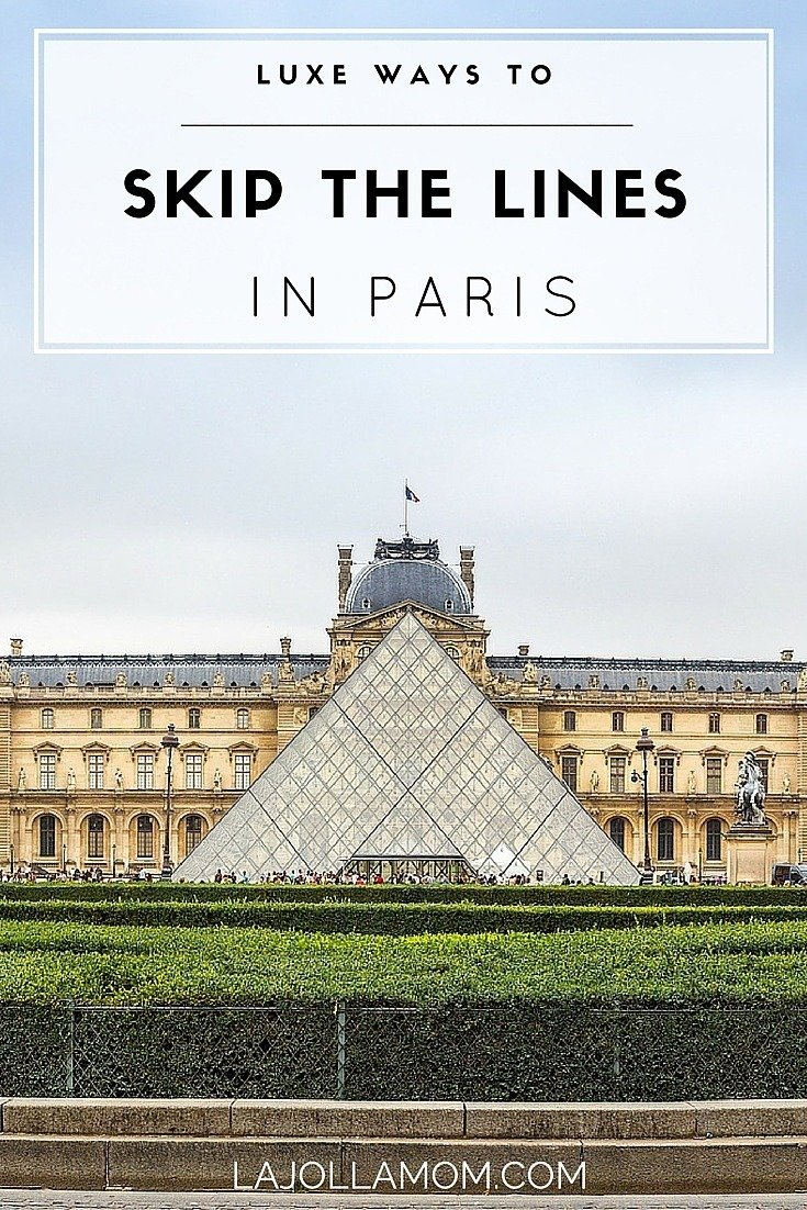 By booking tours and exclusive experiences, it's possible to skip lines to major Paris attractions.
