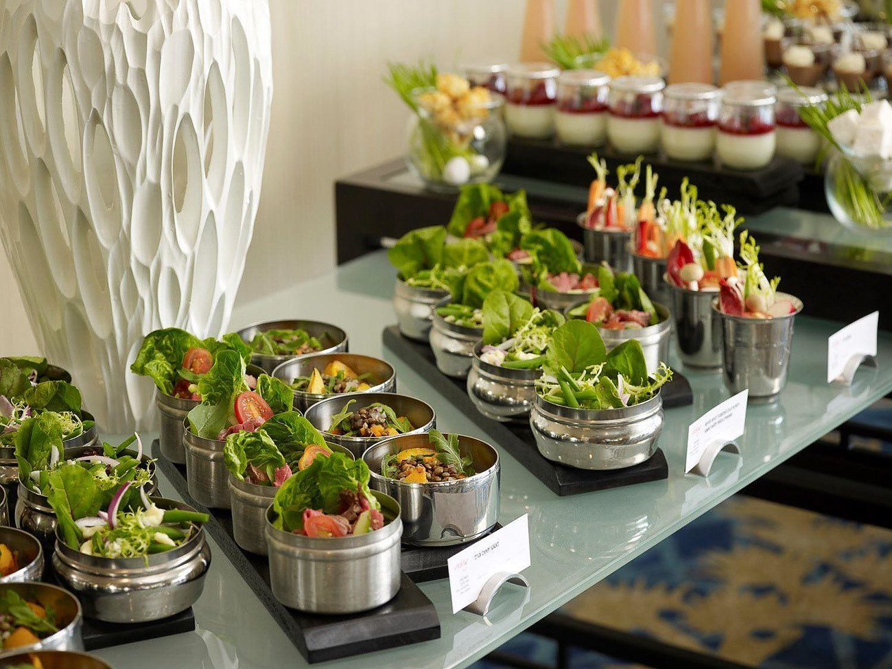Healthy dining from the Vitality offerings at Swissotel