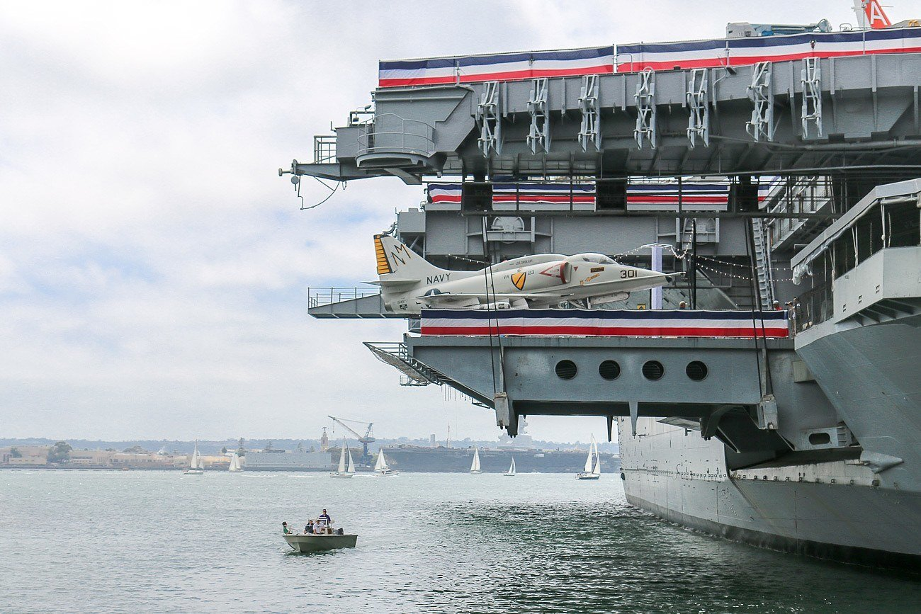 USS Midway Museum, a popular San Diego attraction