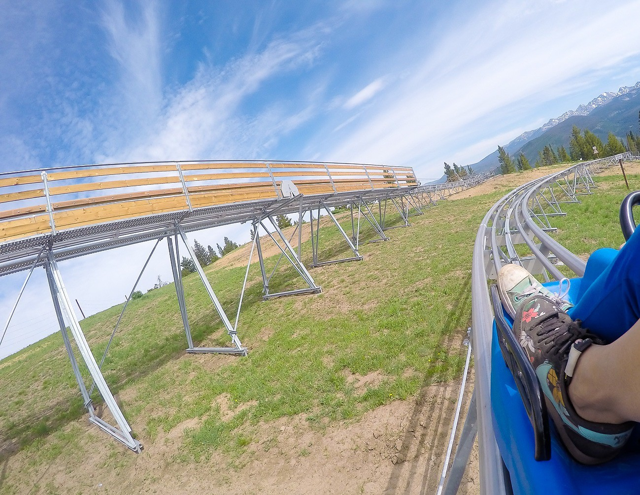 The new alpine coaster at Vail Mountain's Epic Discovery is awesome.