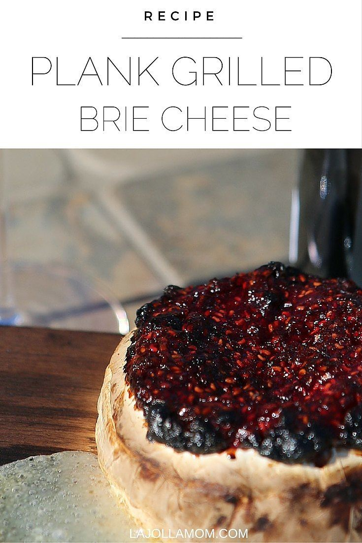 A delicious recipe for brie cheese grilled on a cedar plank.