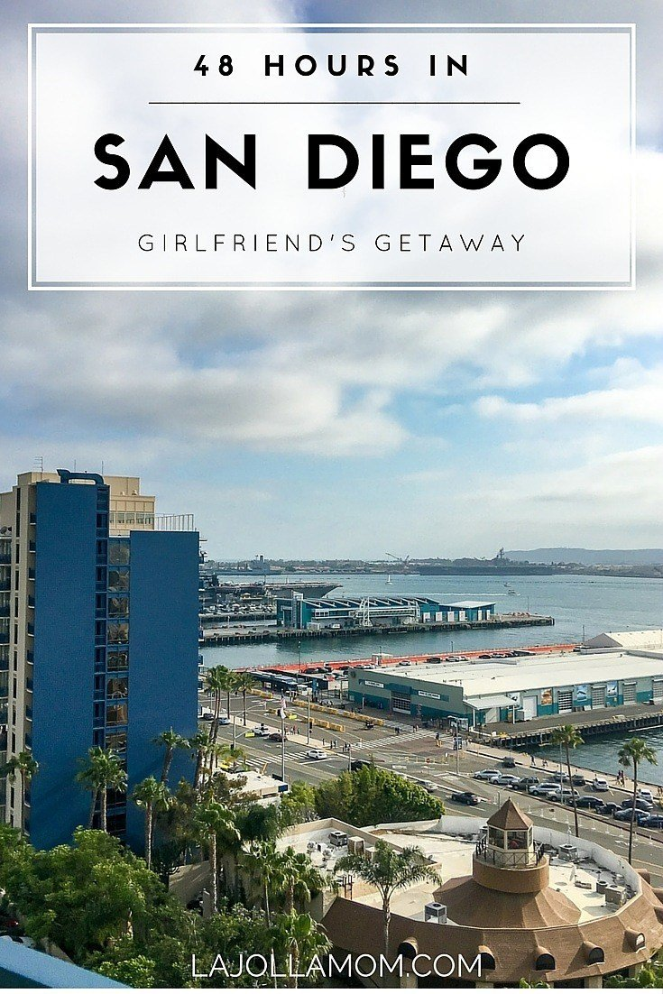 When strategically-based, it's possible to see quite a bit of San Diego in just a weekend.