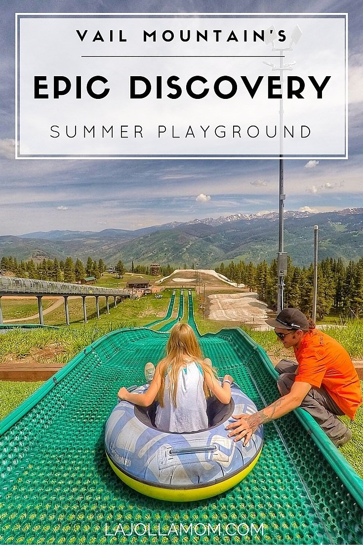 Summer on Vail Mountain is just as fun as it is during ski season. Go tubing, zip lining and much more.