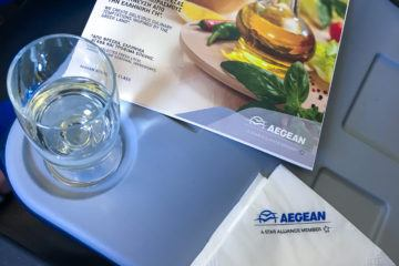 We flew Aegean Airlines regional business class three times on our recent trip. See why it's worth the extra cost.