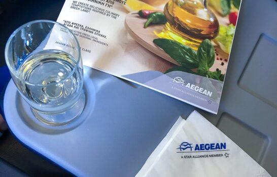 Review: Aegean Airlines Regional Business Class