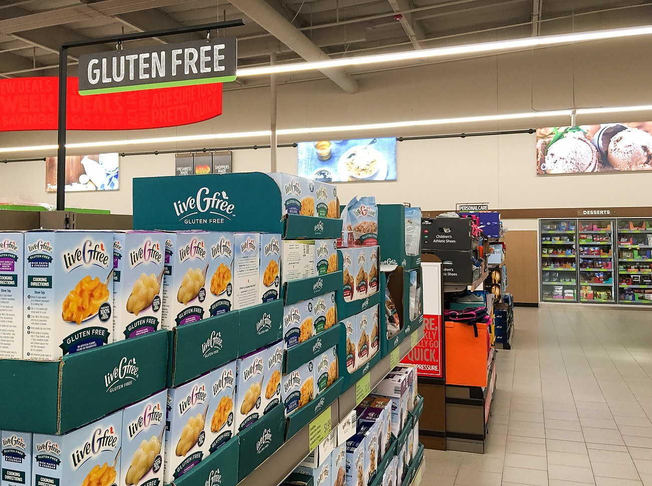 Gluten free options at Aldi in San Diego