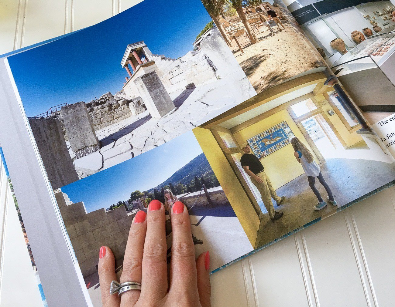 A peek inside a new Blurb book made from travel photos. Here, I give a full review of how I did it.
