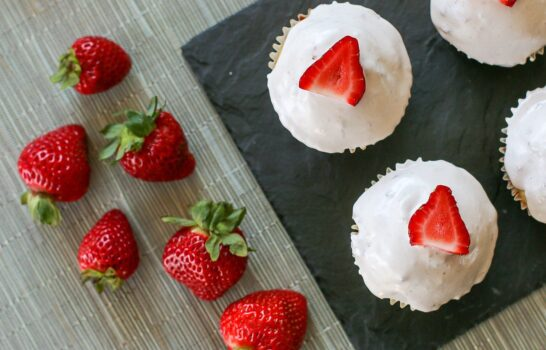 Recipe: Gluten Free Strawberry Cupcakes