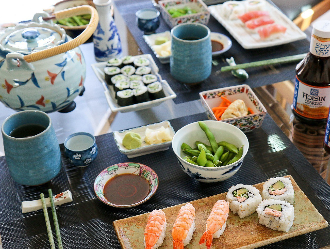 Roll your own or buy it. Either way, here are key components for an intimate sushi party with friends.