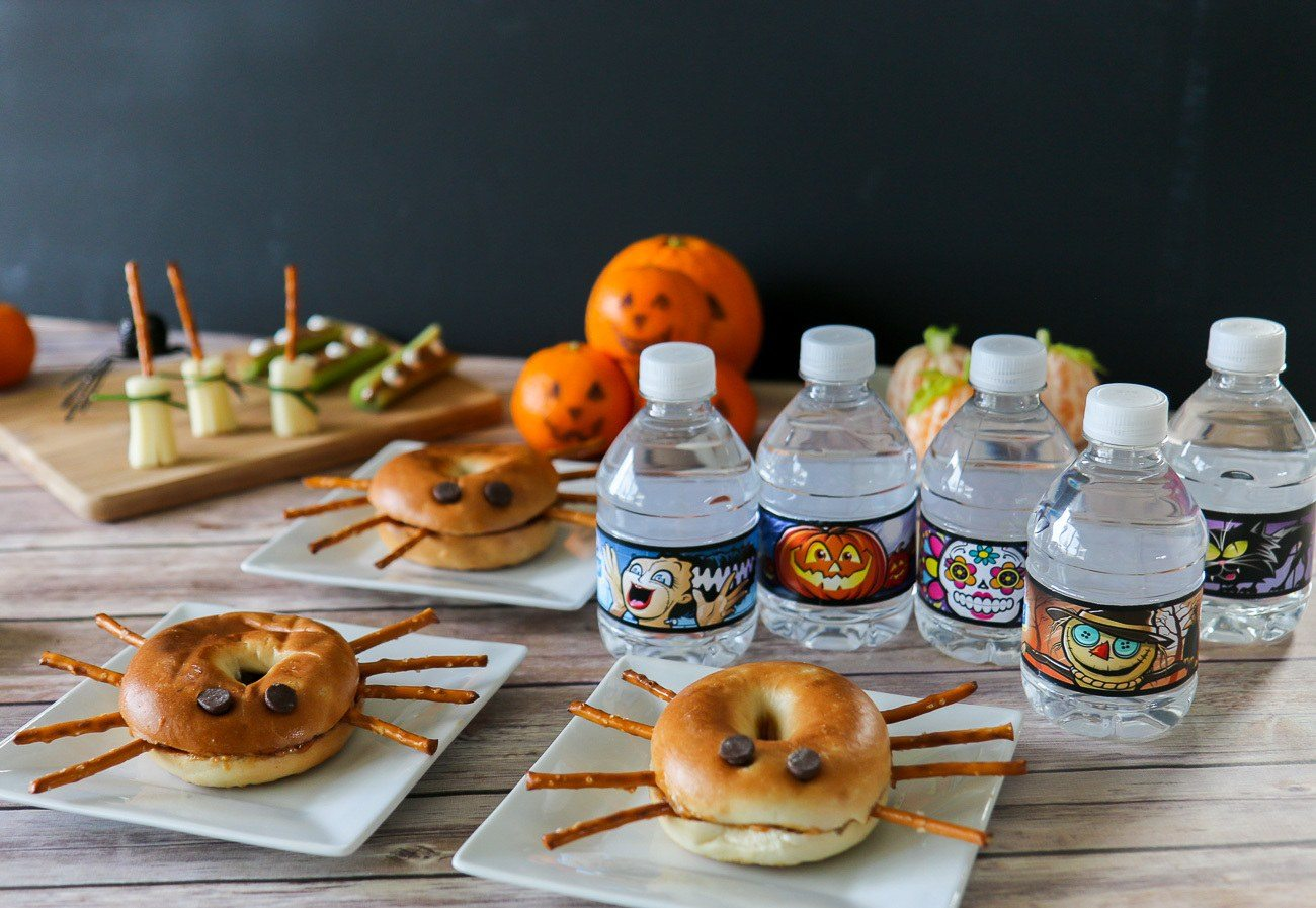 Learn how to make 5 really easy and healthy Halloween snack recipes for kids.