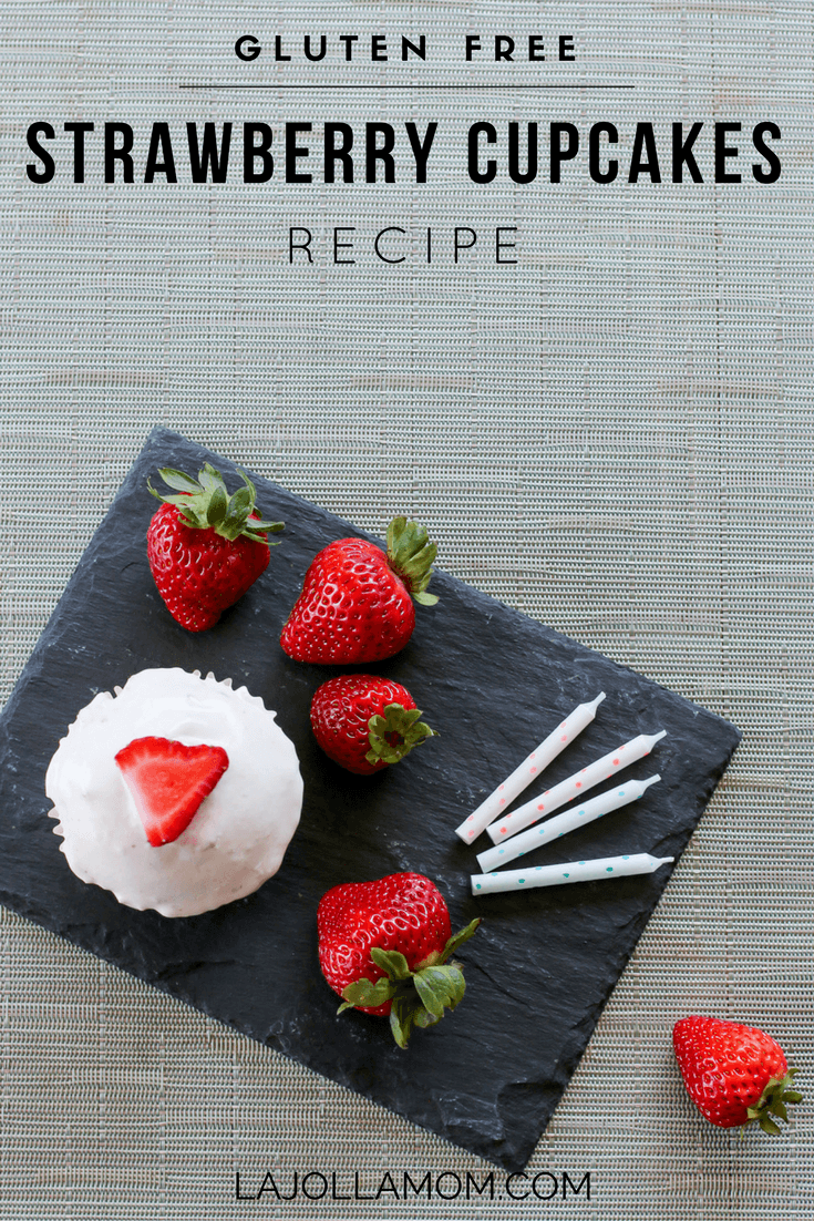Here's a delicious gluten-free strawberry cupcakes recipe courtesy of ALDI that tastes like the real deal.