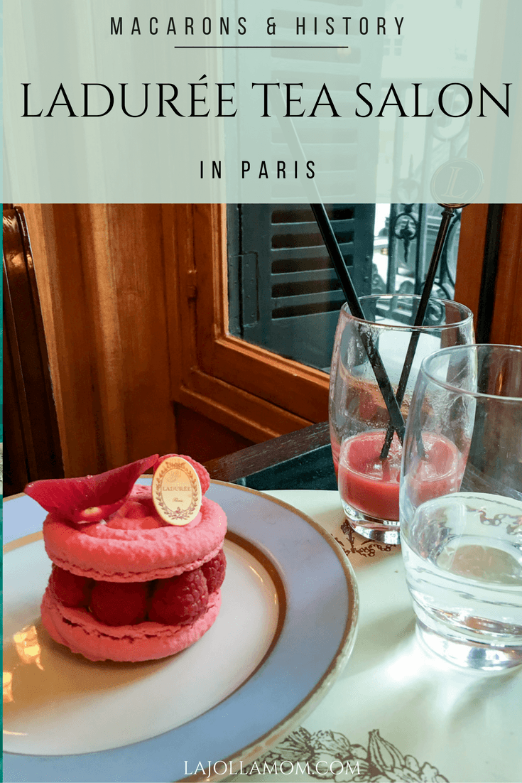 Ladurée has some of the best macarons in Paris and created the city's first tea room for women in the 1800s, allowing them to socialize outside of the home.