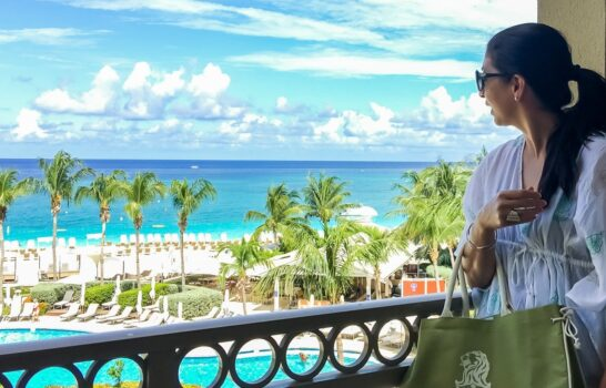 Beach Chic in Grand Cayman with the Lisa Bridge Collection