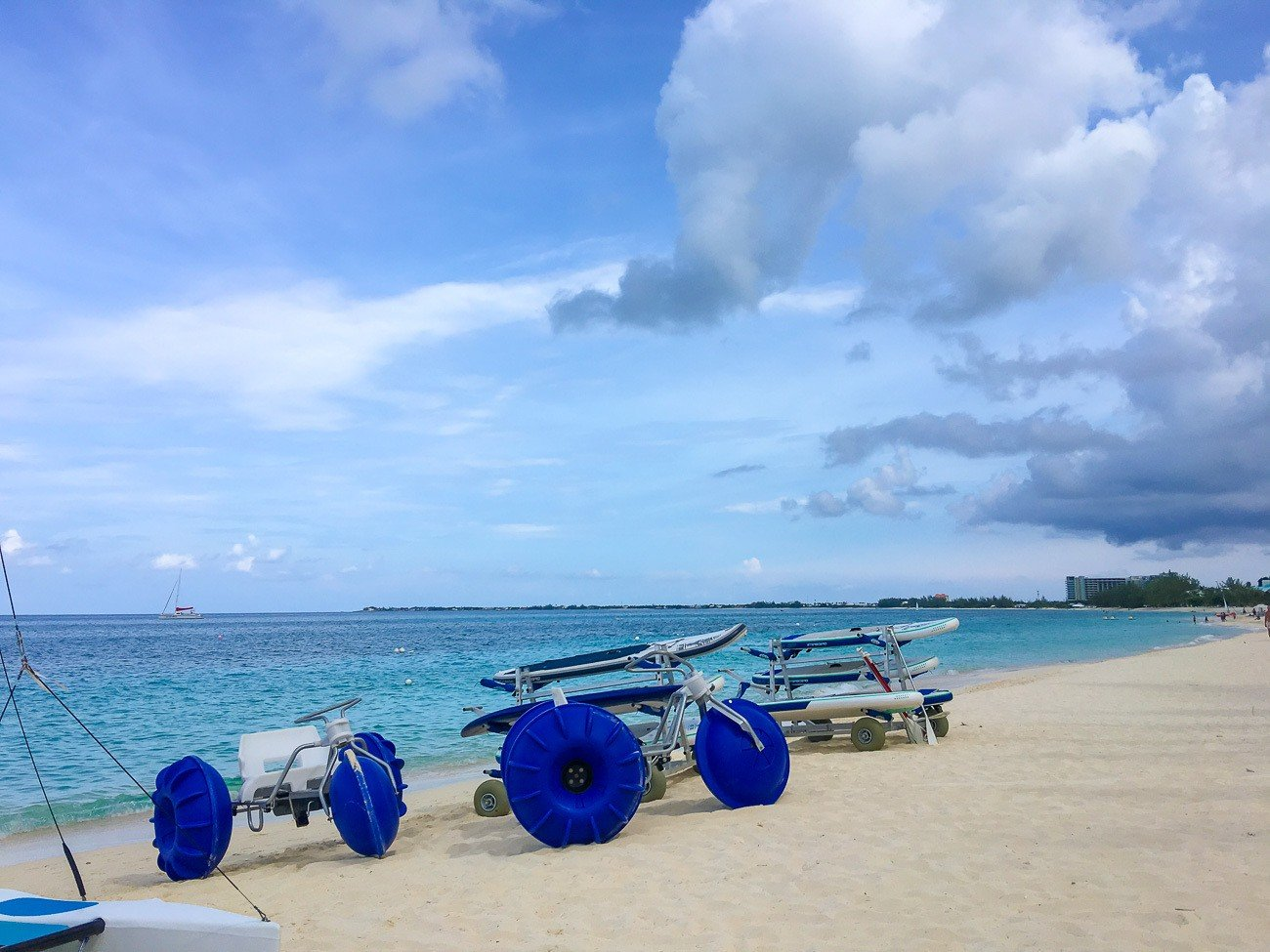 Guests of The Ritz-Carlton, Grand Cayman have access to a variety of onsite water sports.