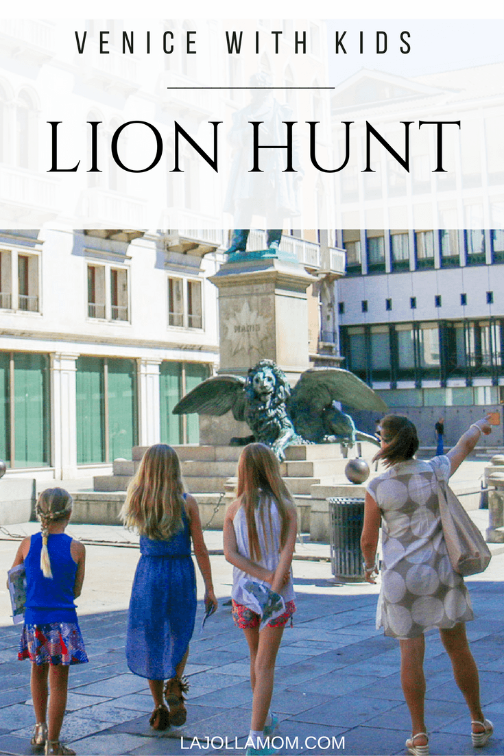 See why a Lion Hunt with Context Travel is definitely one of the best things to do in Venice with kids.