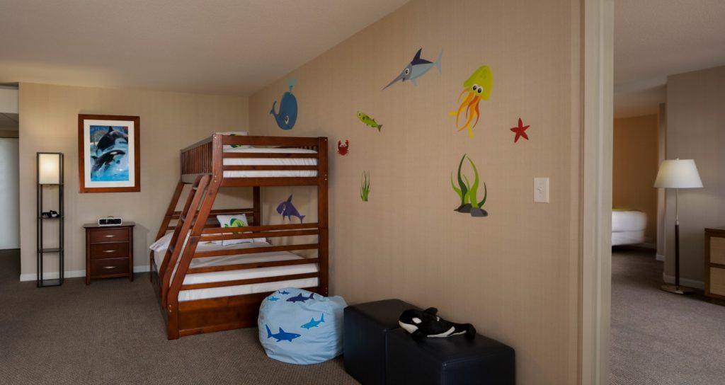 Hyatt Regency Mission Bay is considered a great San Diego family-friendly hotel near Mission Beach.