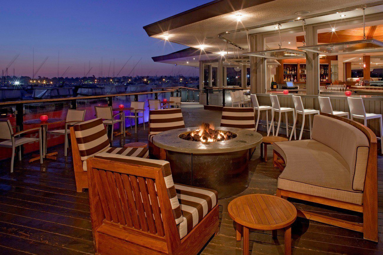 Red Marlin restaurant at Hyatt Regency Mission Bay in San Diego