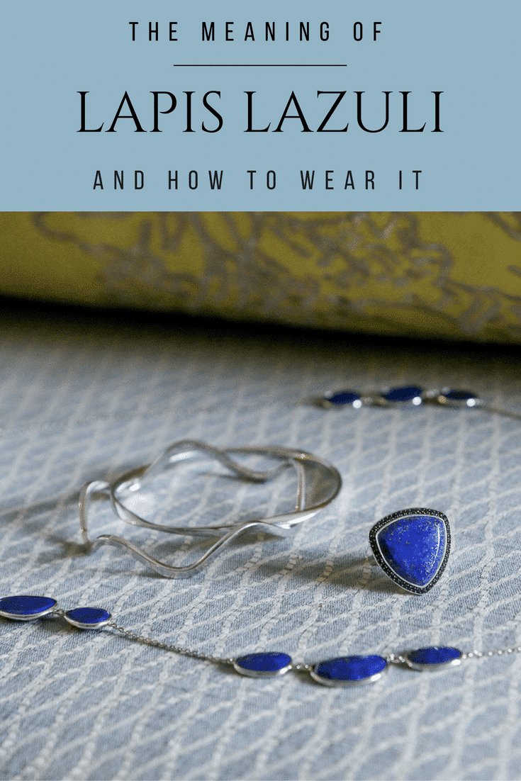 See how lapis lazuli pairs well with everyday staples like denim and t-shirts.
