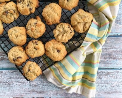 A Lower Calorie Chocolate Chip Cookie Recipe