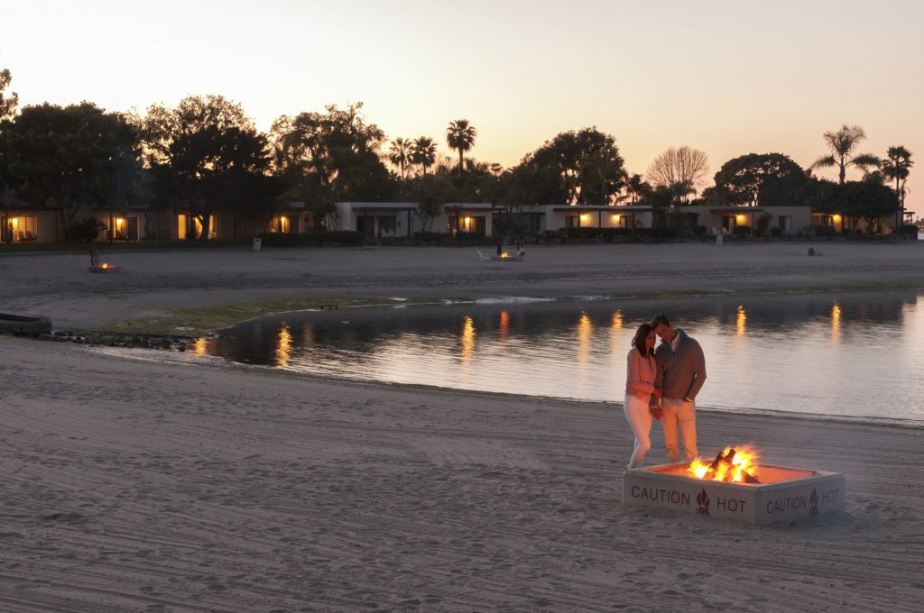 Mission Bay Hotels: Paradise Point Resort beach