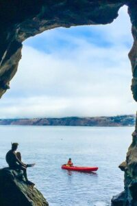 Get a discounted double-kayak rental from Bike & Kayak in La Jolla