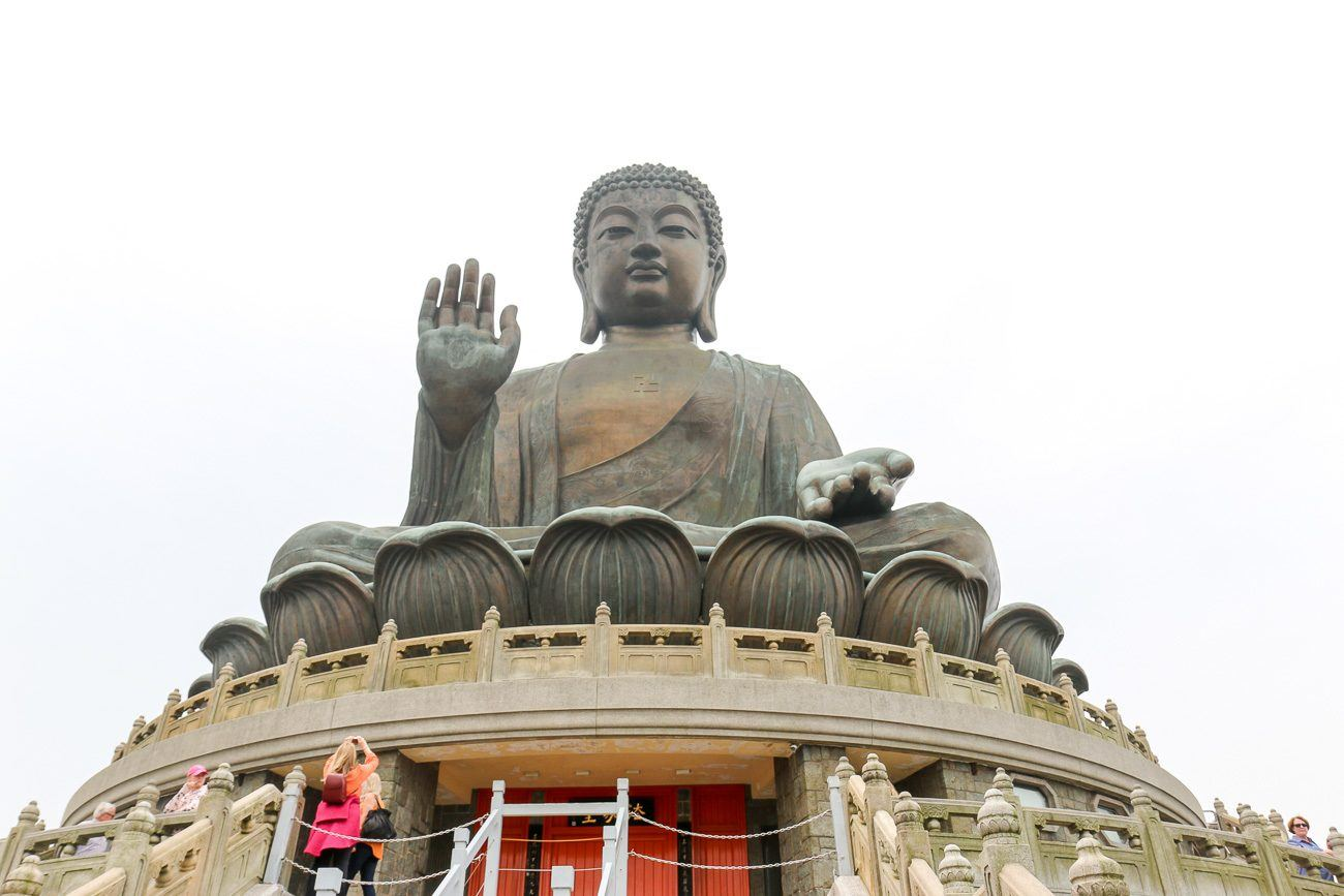 The Tian Tan Buddha is one of the best attractions in Hong Kong.