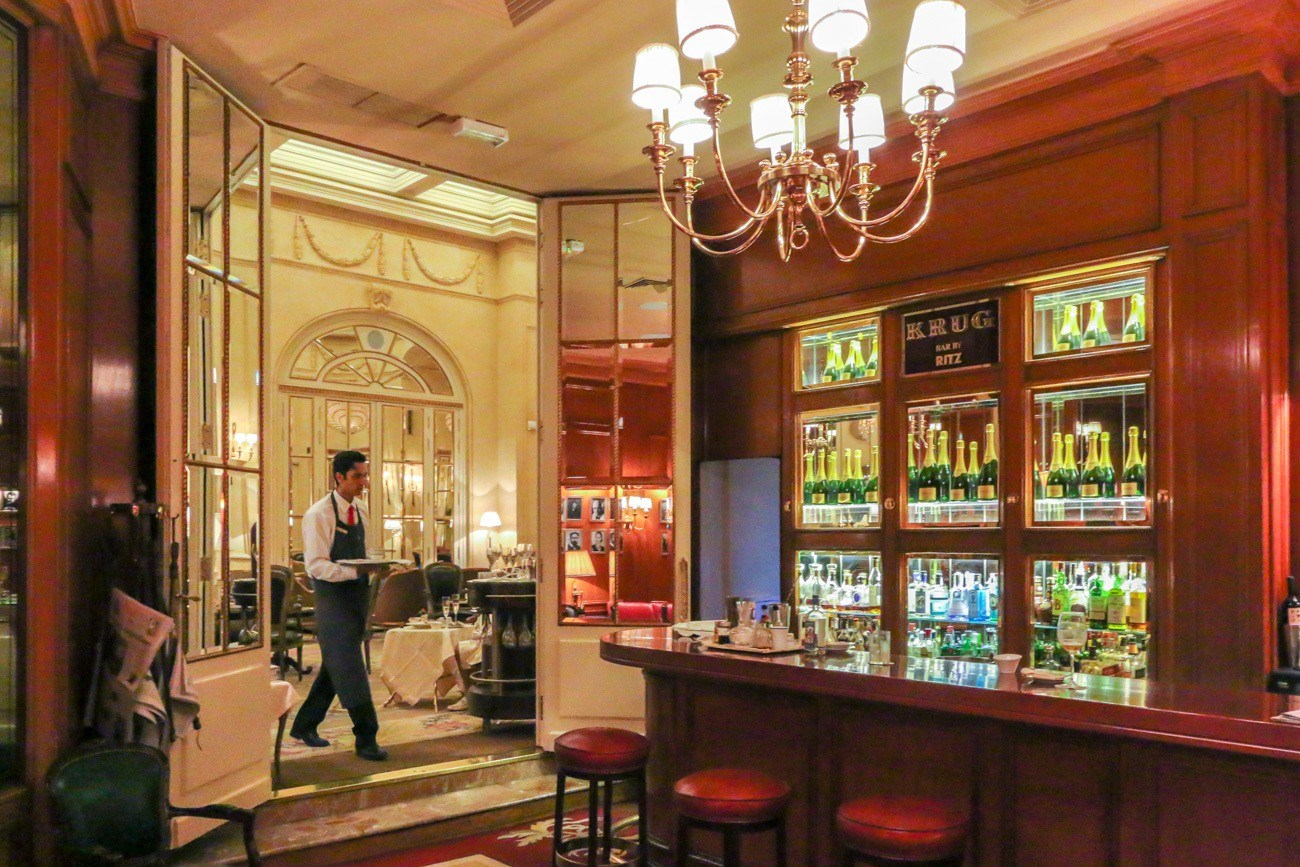 Krug Bar at Hotel Ritz, Madrid