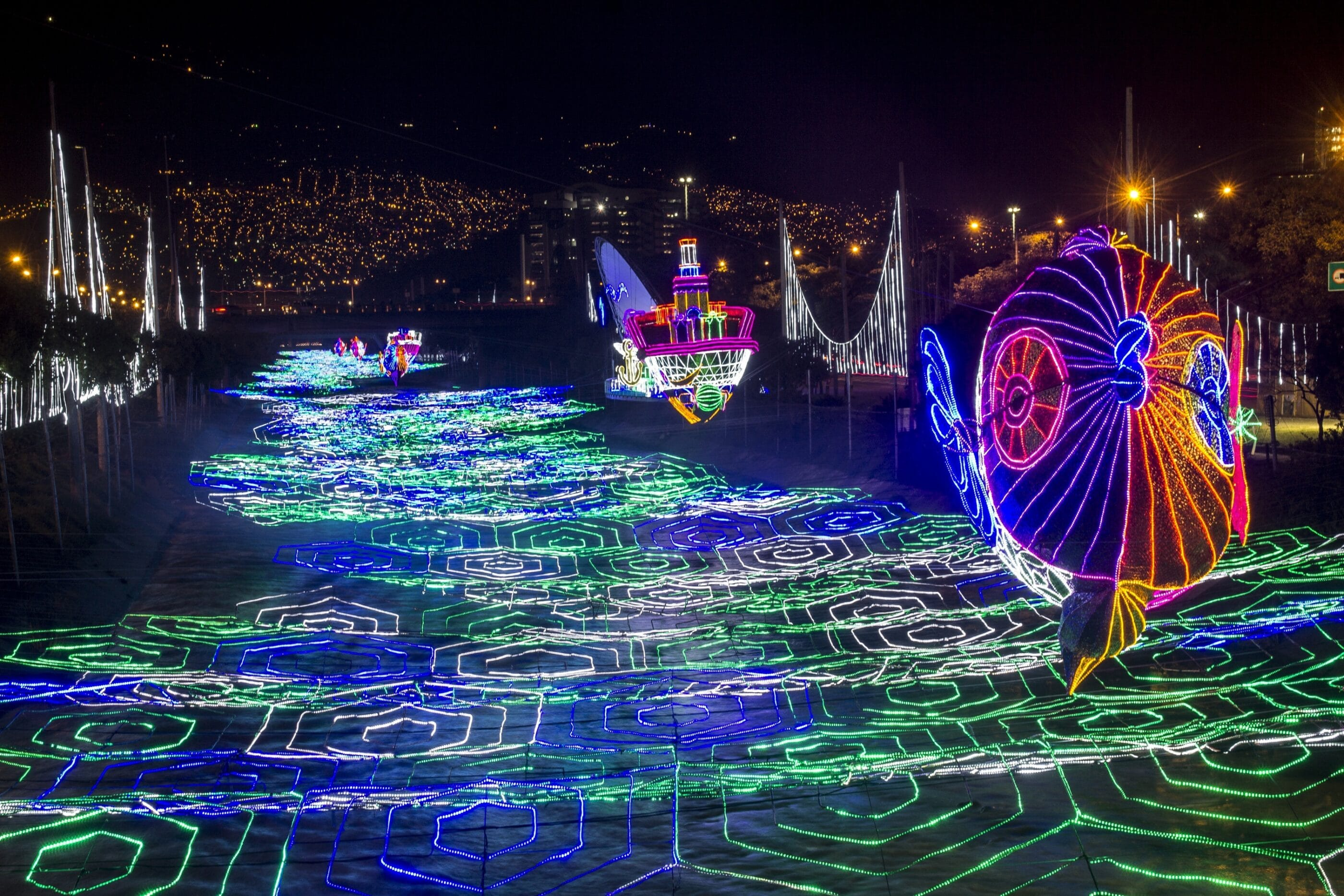 See why Medellin, Colombia is one of the ten best places in the world to see Christmas lights.