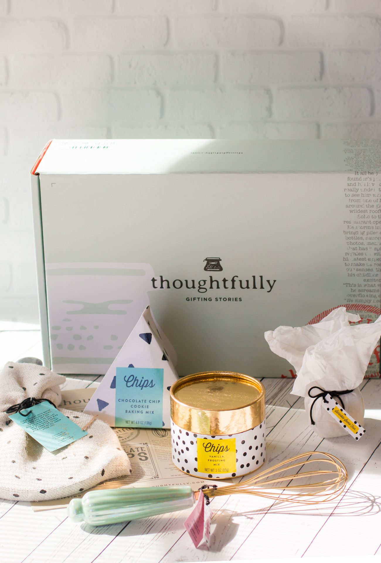 Thoughtfully gift boxes come in a variety of themes, like this one for cookie lovers.
