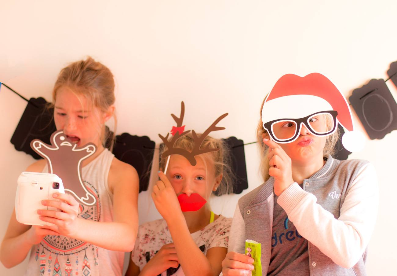 Kids love the Thoughtfully photo booth gift box.