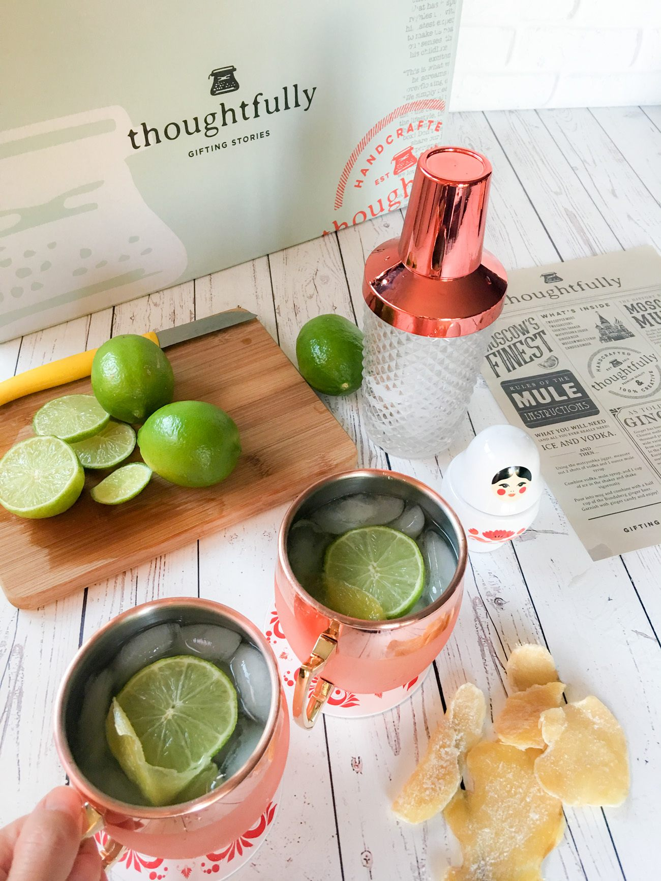 Holiday gift idea: The Moscow Mule gift box from Thoughtfully.