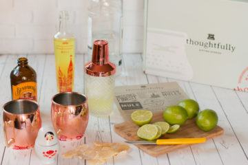 A really great Moscow mule gift box set from Thoughtfully