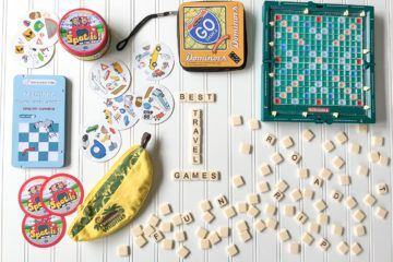 A list of the best travel games for kids that we use and love.