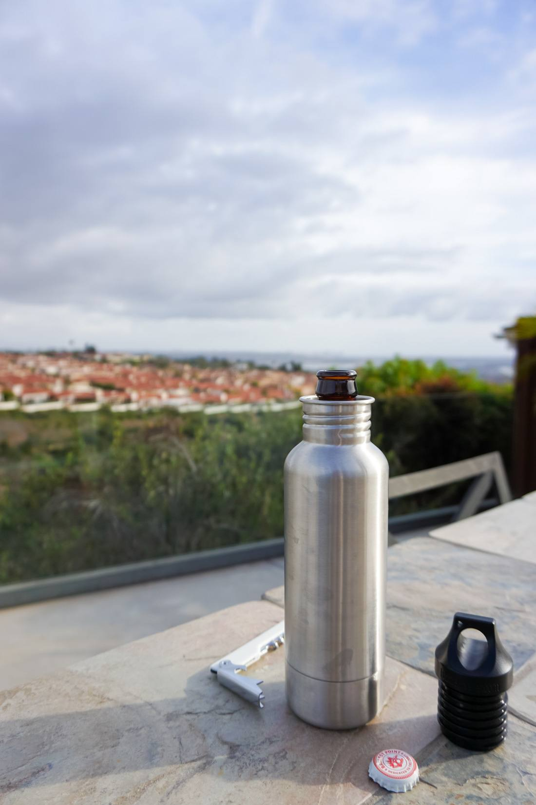 A Bottlekeeper helps keep beer chilled and safe from impact while being discreet.