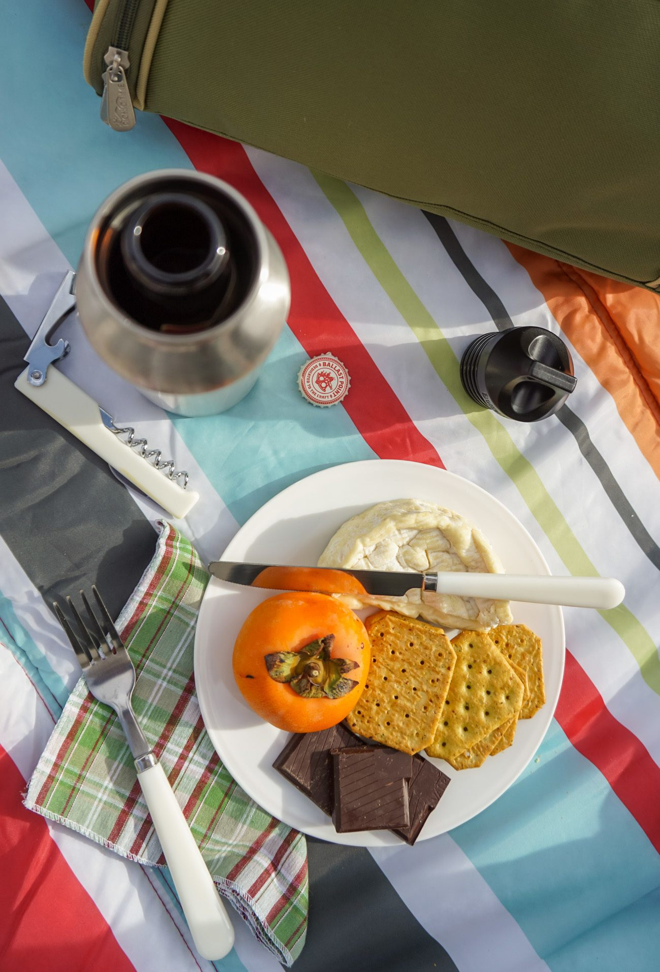 Take a Bottlekeeper with you on a picnic to keep your beer cold!