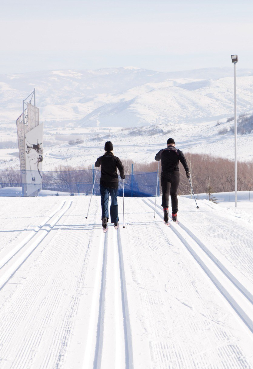 Go cross country skiing in Heber Valley, Utah.
