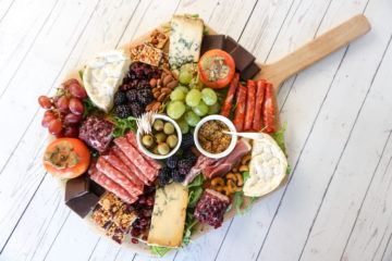 Make a prettier charcuterie and cheese board that gives your guests more choices with these tips.