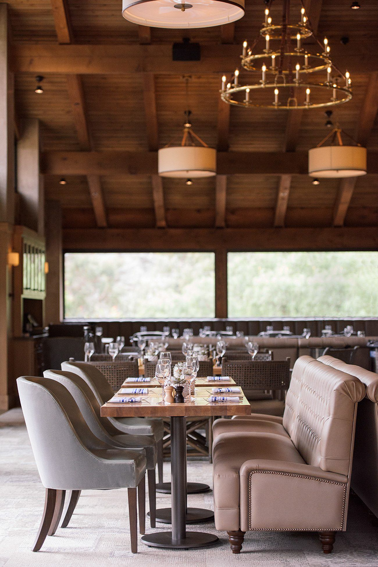 Harvest restaurant at The Ranch at Laguna Beach, a great Southern California boutique hotel.