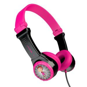JBuddies headphones are great for kids who travel because they keep volume levels safe.