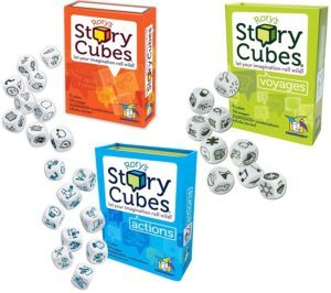 Rory's Story Cube Complete Set is a great travel game for kids and adults.