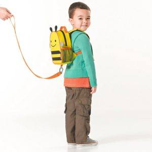 Skip Hop Zoo Little Kid and Toddler Safety Harness Backpack