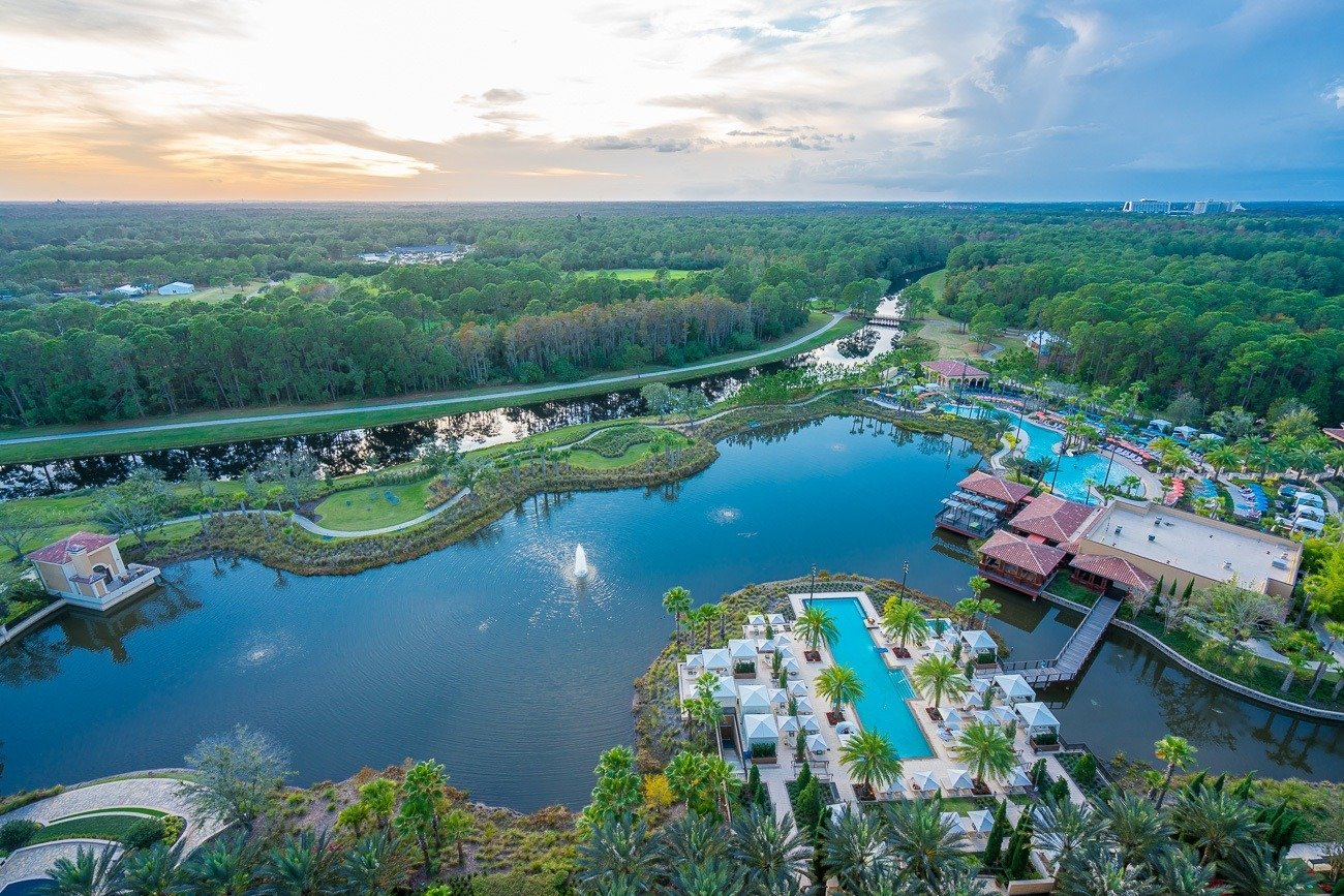 Four Seasons Resort Orlando at Walt Disney World Resort is located in the private Golden Oak community.