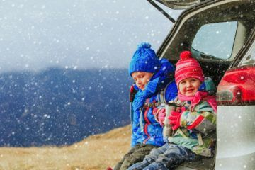 Learn the best driving tips for winter road trips.