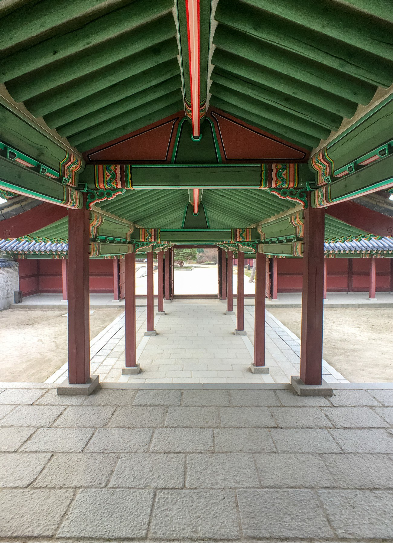 Changdeokgung Palace in Seoul as shot using one of the best iPhone lenses - a Moment 18mm wide angle lens.
