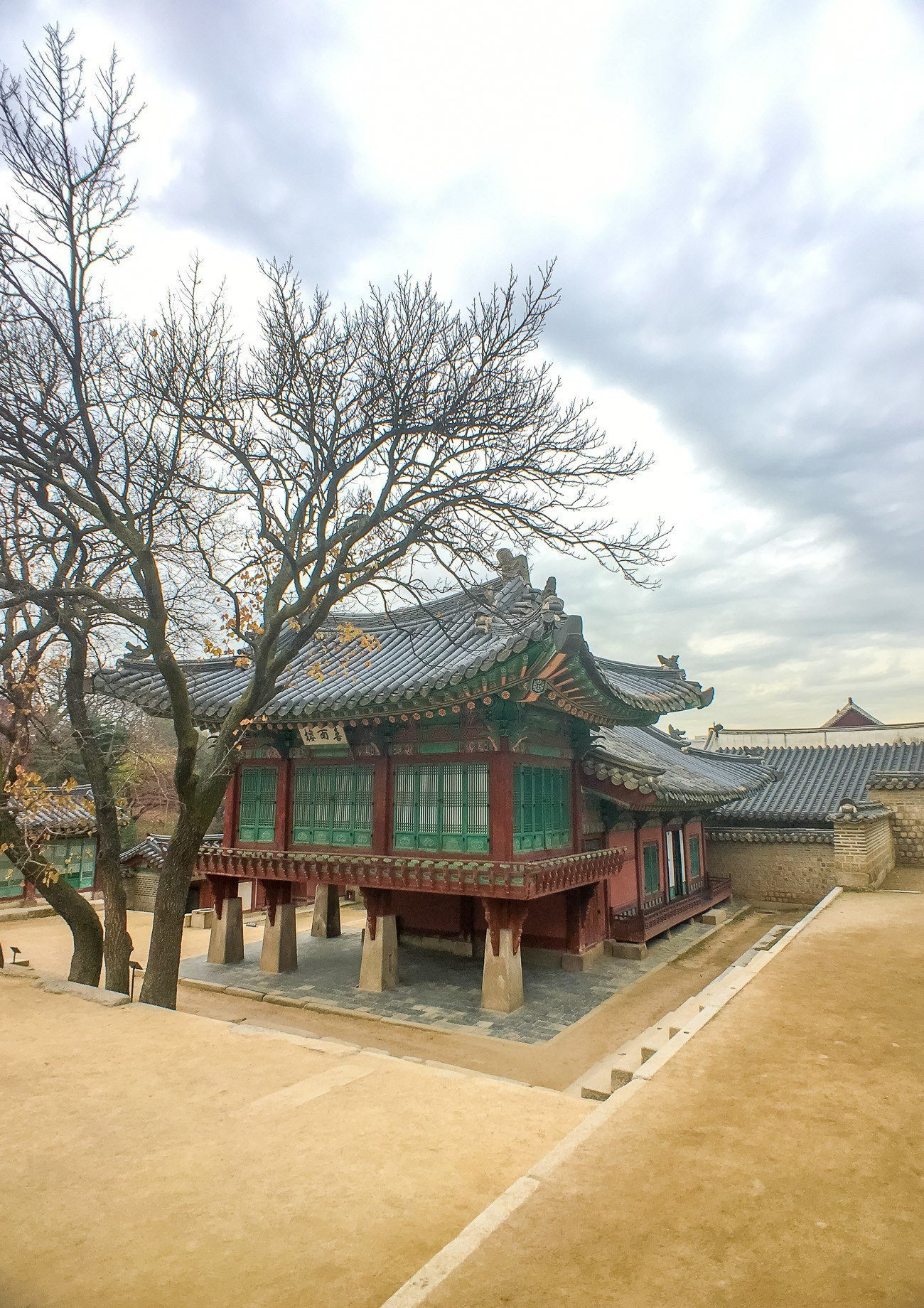 A view of the Changdeokgung Palace show with a Moment wide angle lens.